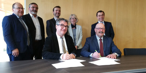 Signature convention pole energie PDLL